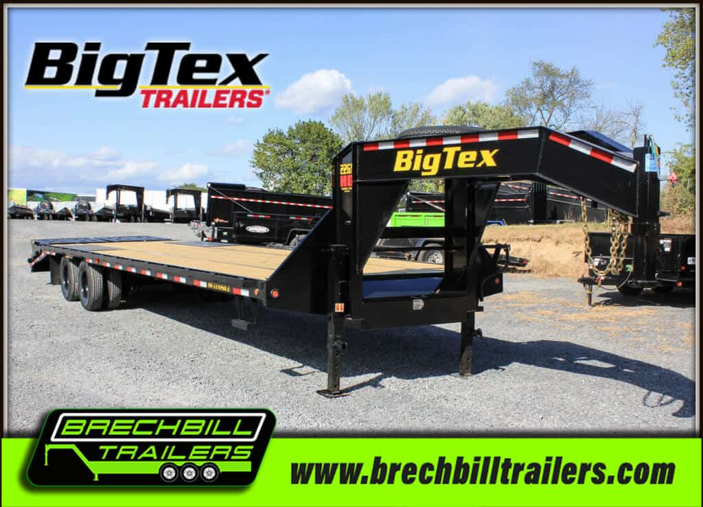 Big Tex Gooseneck Equipment Trailer 22GN-28BK+5MR