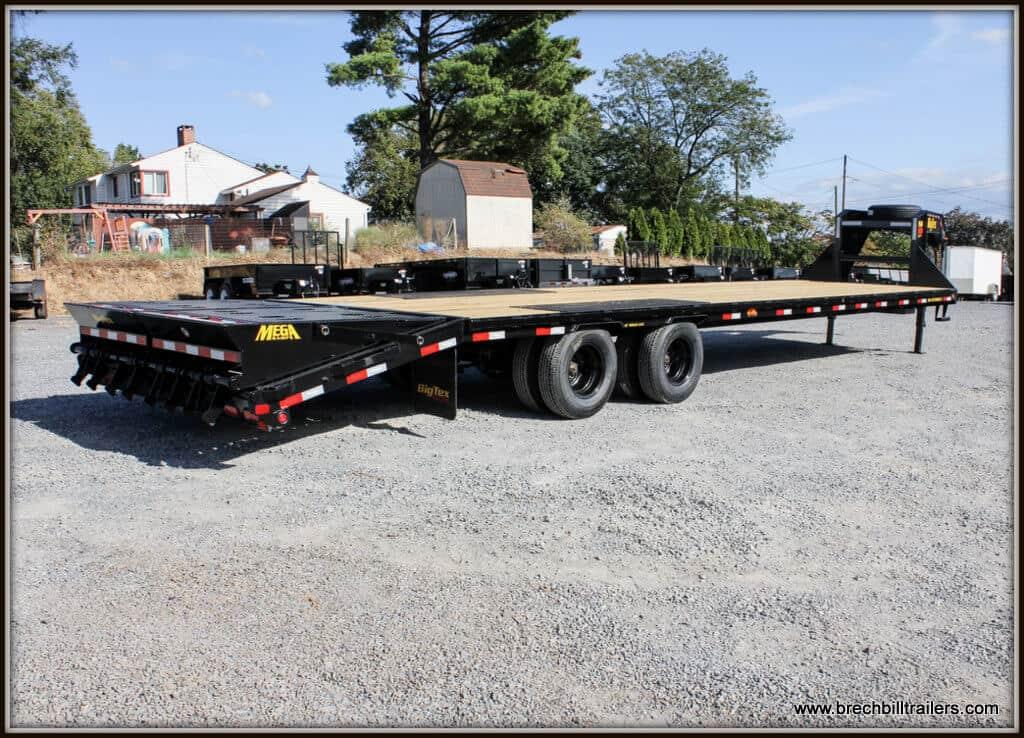 Big Tex Gooseneck Equipment Trailer 22GN-30BK+5MR