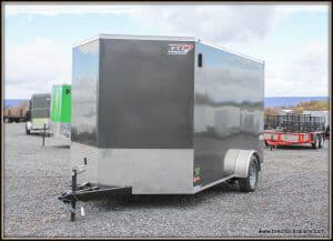 Bravo Scout Enclosed Cargo Trailer 81x12'6x3K (SC712SA)