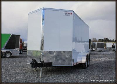 Bravo Scout Enclosed Cargo Trailer 81x16'x10K (ST716TA3) WHITE