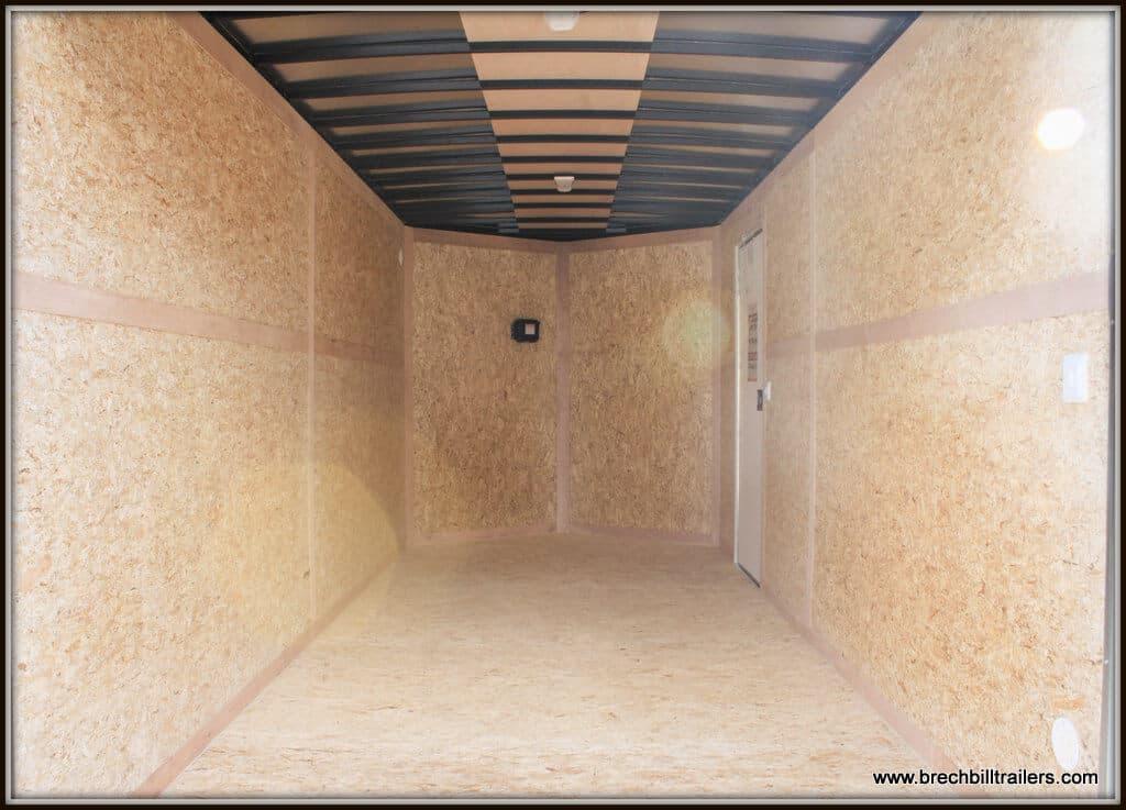Bravo Scout Enclosed Cargo Trailer 81x16'x10K (ST716TA3) WHITE