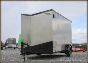 Bravo Scout Enclosed Trailer 68x12'2x3k (SC612SA) PEWTER MATALLIC