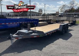 gray and black bwise equipment trailer for sale near me