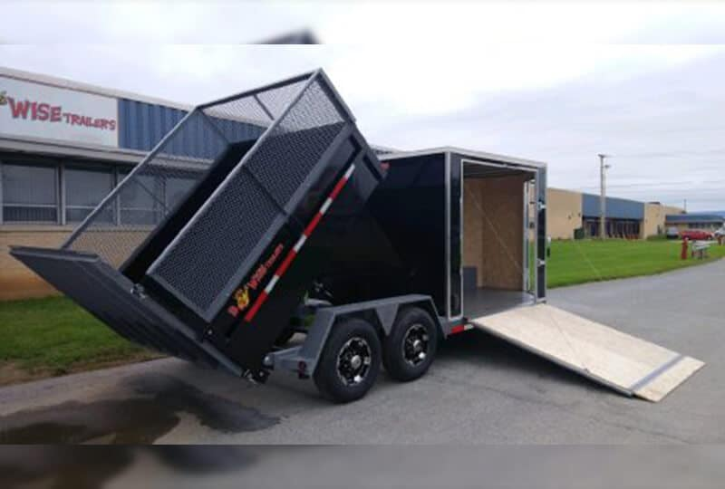 Bwise Ultimate Combo Dump & Enclosed Trailer