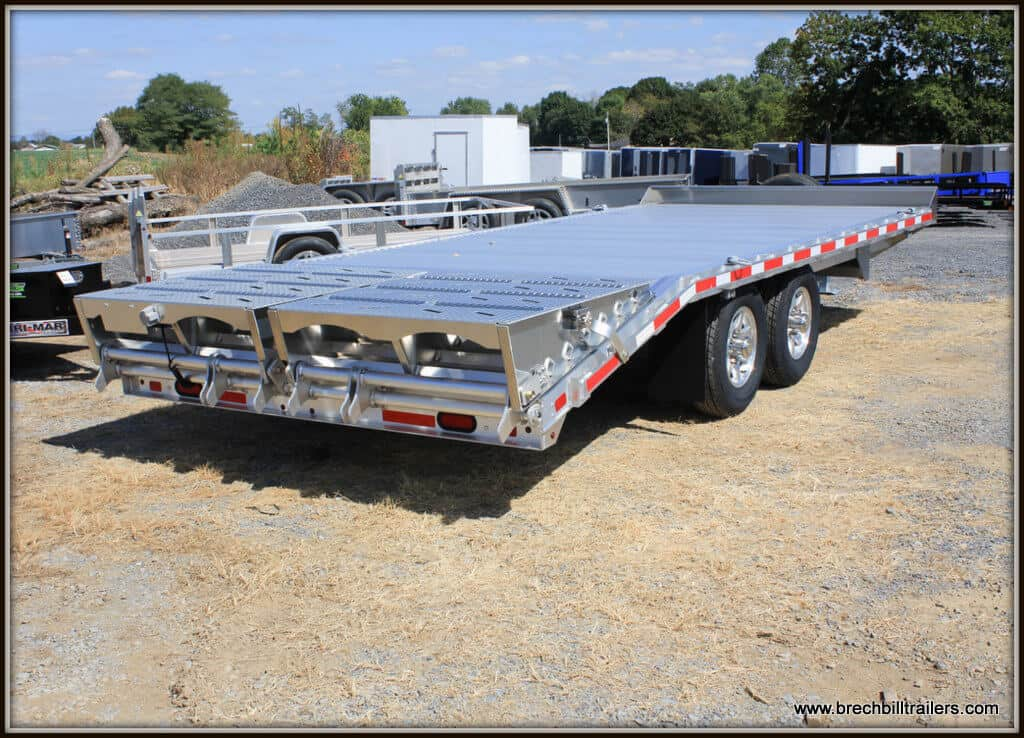 Eby Deck-over Trailer