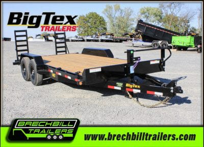 Big Tex Heavy Duty Equipment Trailer 14ET-18BK-KR