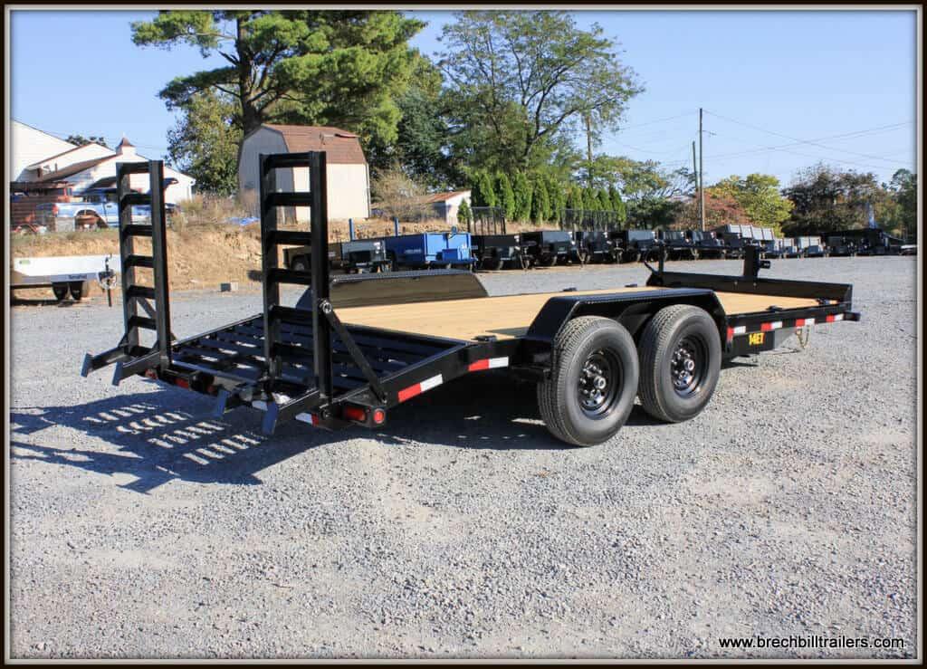 Big Tex Heavy Duty Equipment Trailer 14ET-18BK-KR