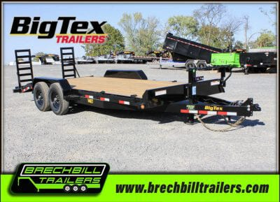 Big Tex Heavy Duty Equipment Trailer 14ET-20BK-KR