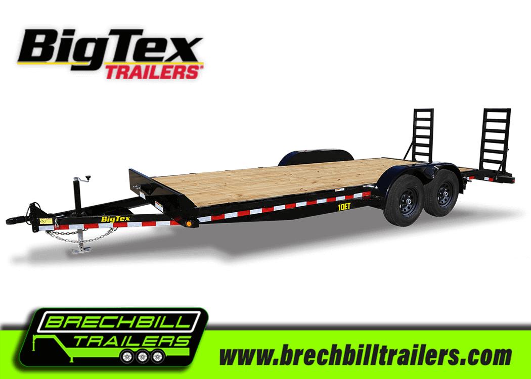 Big Tex Pro Series Equipment Trailer 10ET-18BK-KR