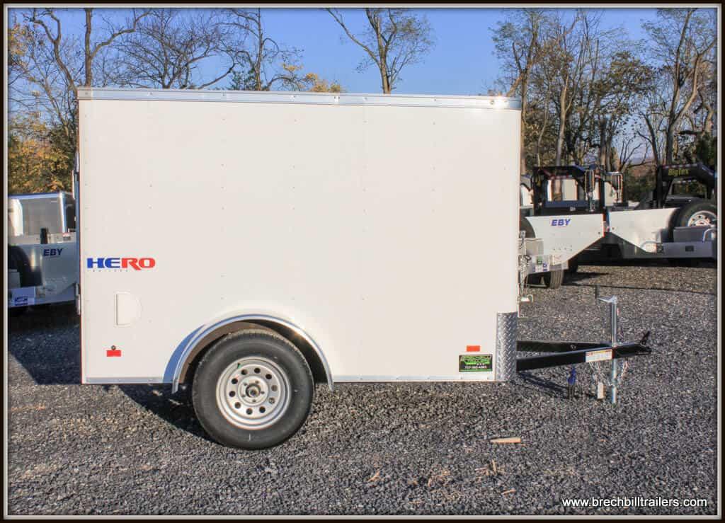 Bravo Hero Enclosed Cargo Trailer 56x8'4x3K (HR58SA)