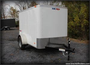 Hero Enclosed Cargo Trailer