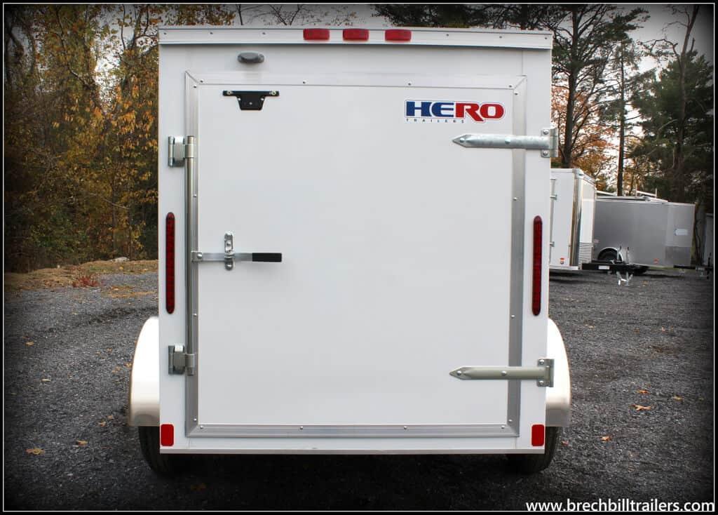 Hero Enclosed Cargo Trailer