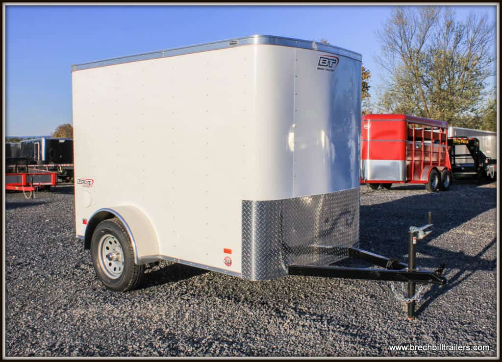 Bravo Scout Enclosed Cargo Trailer SC58SA