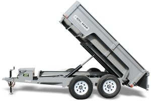 Bri-Mar LE Series Dump Trailers Htone Gray