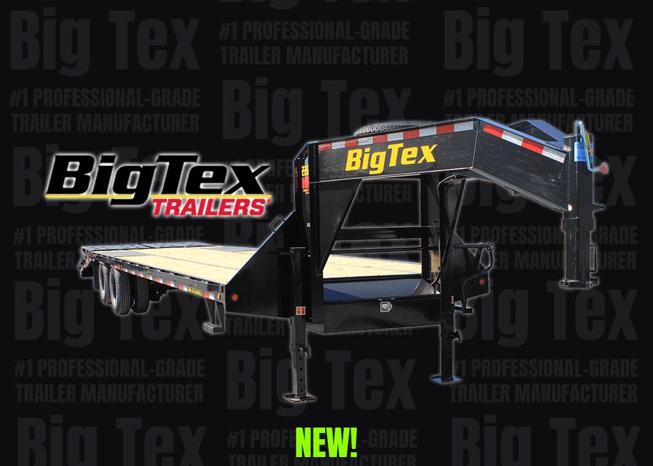 Home Page - Big Tex All New Logo and Photo Gooseneck Dual Wheel