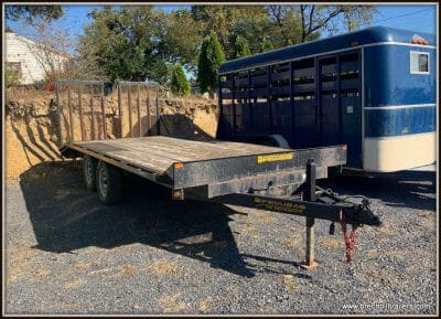 Deck-Over Equipment Trailer