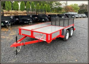 Used 2017 Bwise Landscape Trailer