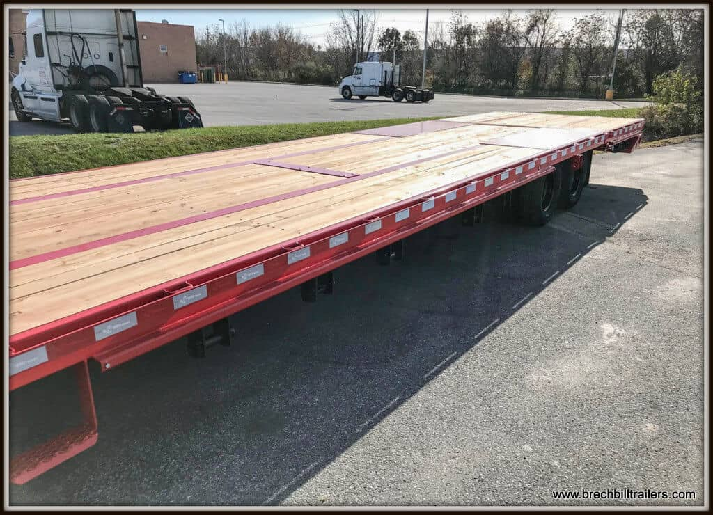 Bwise Gooseneck Deck Over Equipment Trailer (EDG32-25) REDv