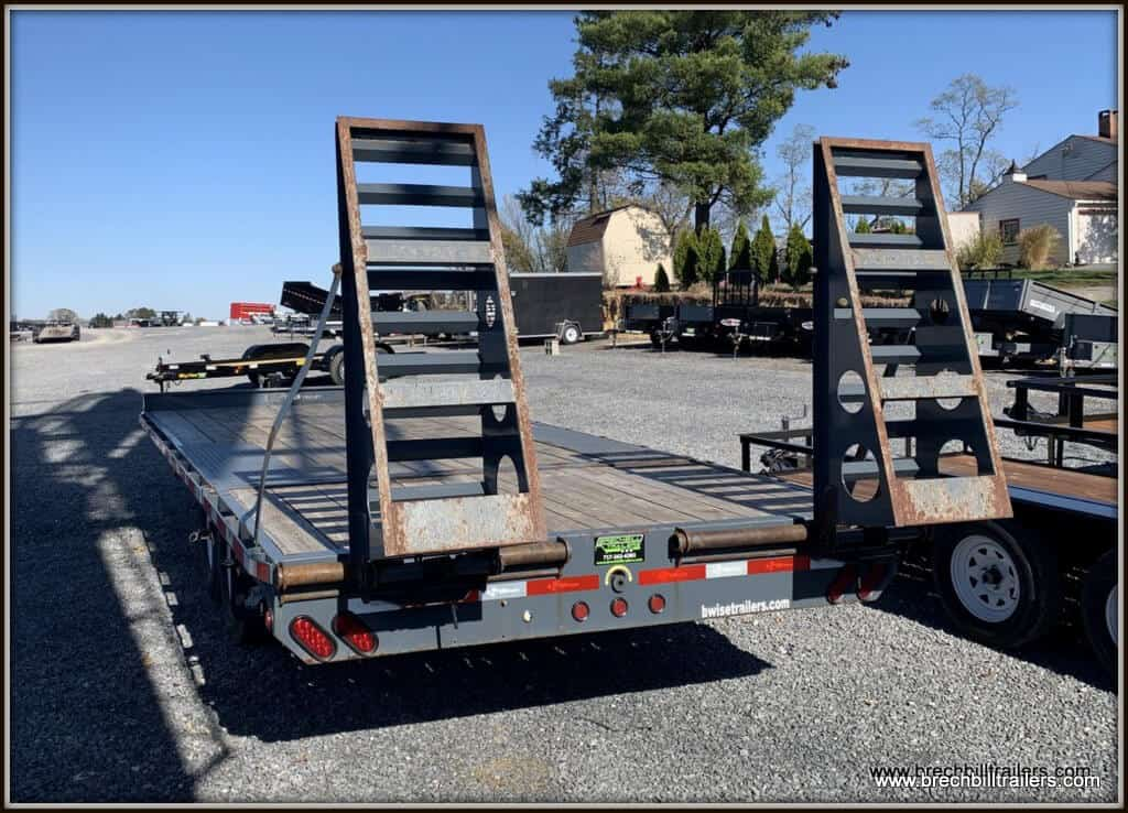Used 2014 Bwise Deck Over Equipment Trailer