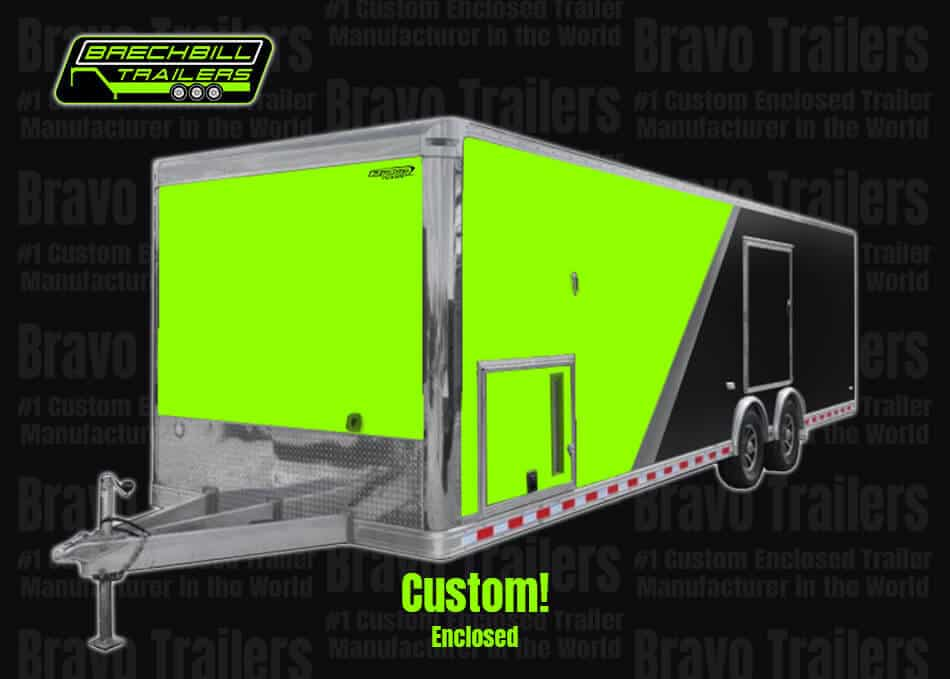 Bravo Trailers #1 Custom Enclosed Trailer Manufacturer in the World Brechbill Trailers Sales