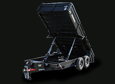 Bri-Mar LPHD Series Dump Trialer 81.5x16'x14K (DT716LPHD-14)