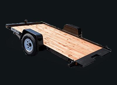 Bri-Mar T Series Gravity Tilt Trailer T712-6 Black 1