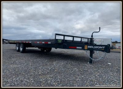 Belmont Deck Over Tilt Trailer 96x24'x14K (DO924TD-14K) Charcoal