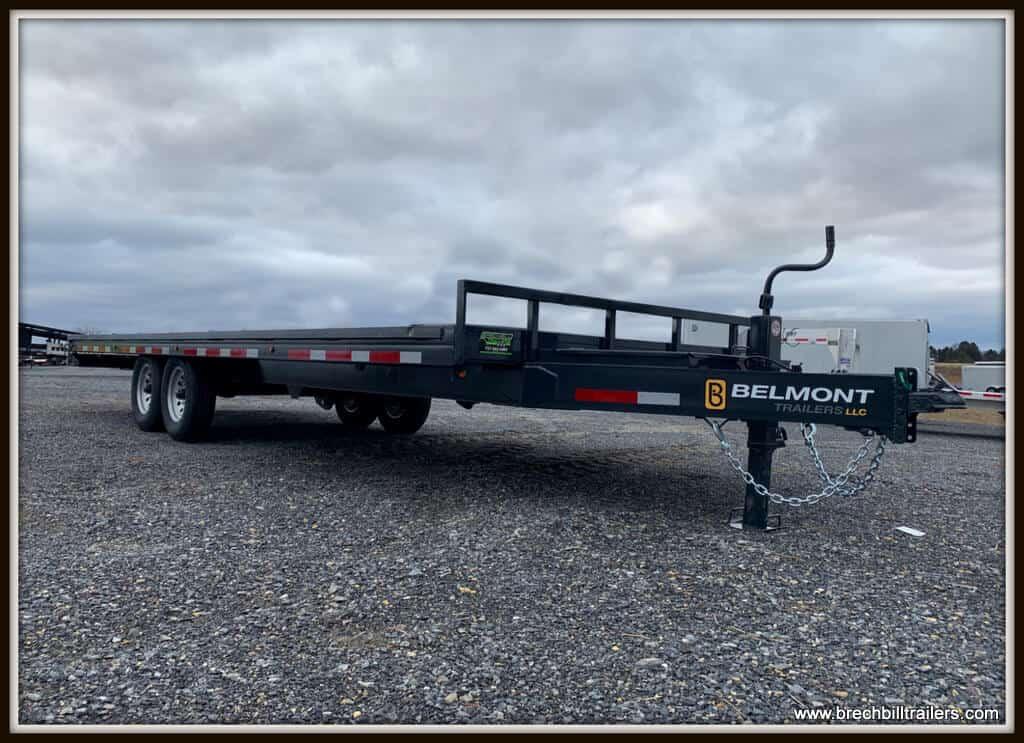 Belmont Deck Over Tilt Trailer 96x24'x14K (DO924TD-14K) Charcoal