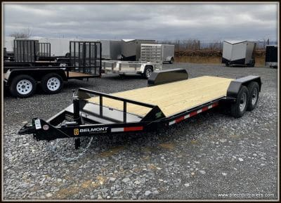 Belmont Skid Steer Equipment Trailer 82x18'x12K (SS1018-12K)