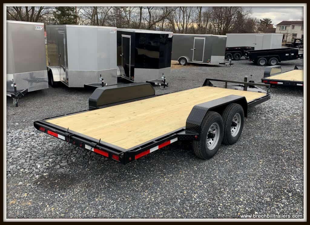 Belmont Skid Steer Equipment Trailer 82x18'x12K (SS1018-12K)