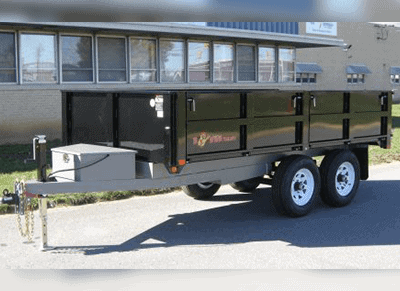 Bwise 10K Deckover Dump Trailer Replace 187