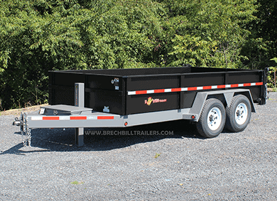Bwise 15.4K Low Pro Dump Trailer DLP14-15 Replace 187
