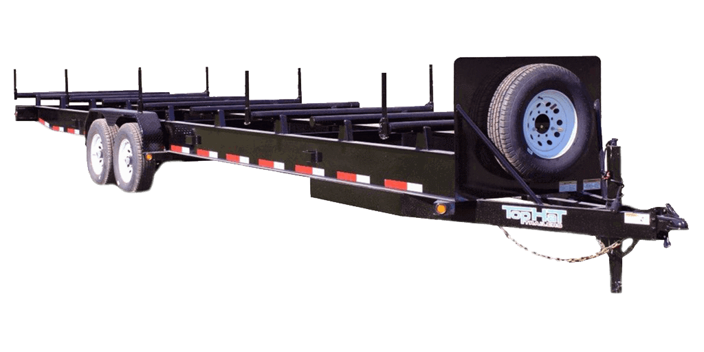 Specialty Top Hat Pipe Hauler 14K and Pipe Hauler Gooseneck 14K Trailer 1.2