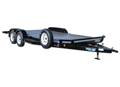 Top Hat Car Hauler Trailer 1