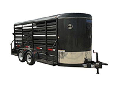 Top Hat Cattle Stock Trailer 1
