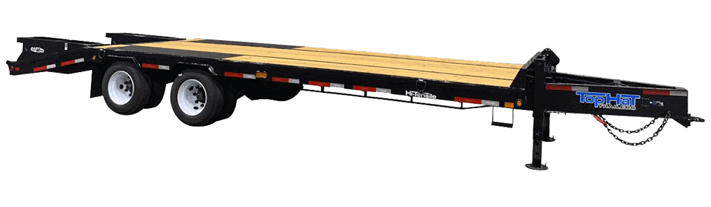 Top Hat Deck Over Bumper Pull Equipment Trailer 300