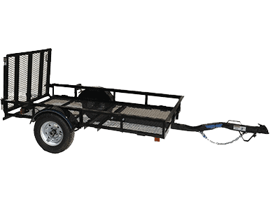 Top Hat Derby JR 15 Single Axle Utility Trailer 1