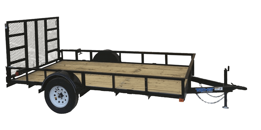 Top Hat Derby SR Angle Single Axle Utility Trailer 1.3