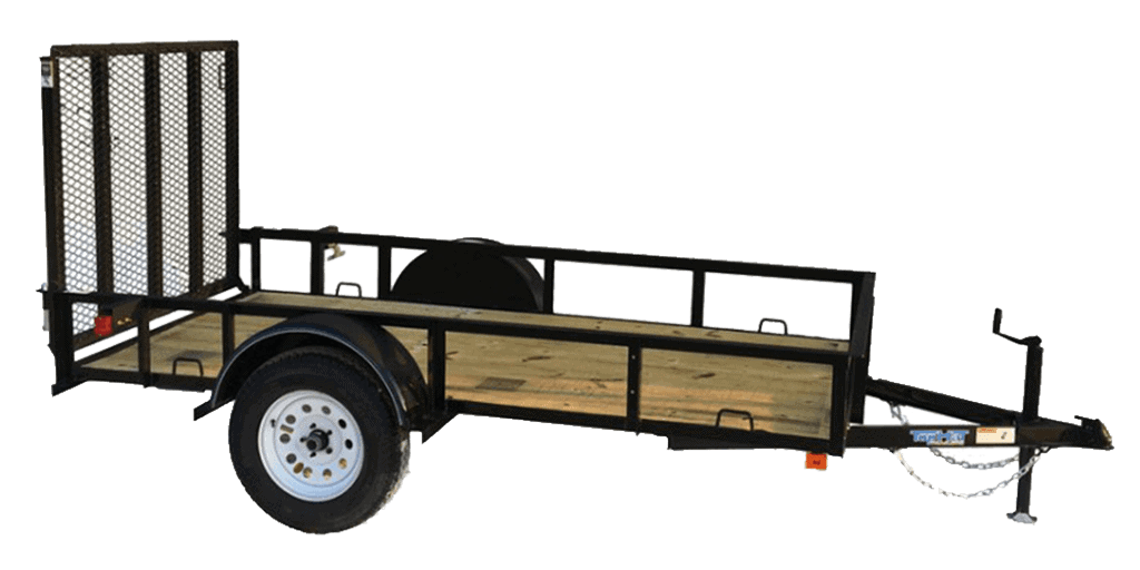 Top Hat Express Single Axle Utility Trailer 1.3