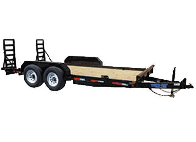 Top Hat Fender Style Equipment Trailer 1