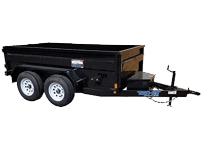 Top Hat Hydraulic Dump Trailer 1