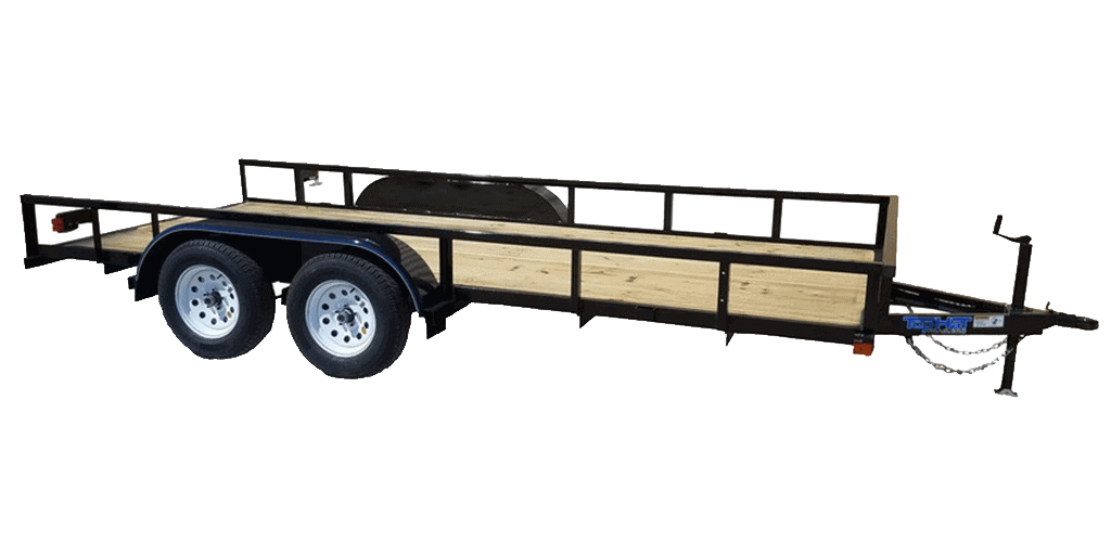 Top Hat Lite Duty Utility Tandem Axle Landscape Trailer 1.3