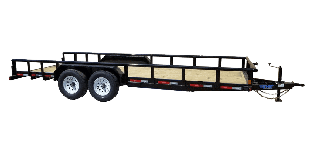 Top Hat Load Hauler 10K Fender Style Equipment Trailer 1.3