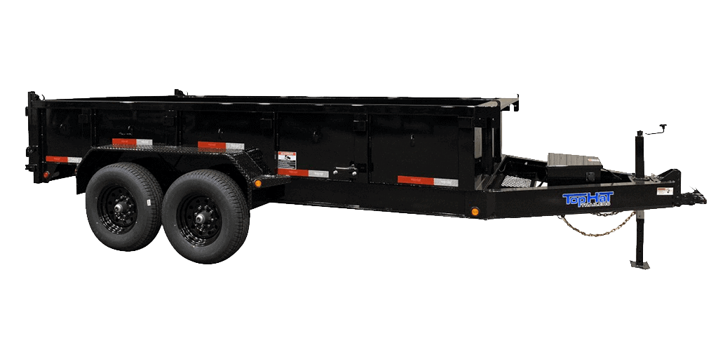 Top Hat Low Profile Dump 140 Hydraulic Dump Trailer 1.2