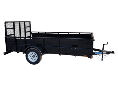 Top Hat Mini Runabout Single Axle Utility Trailer 1