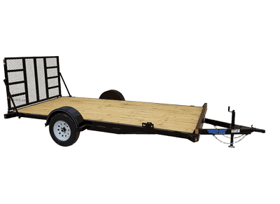 Top Hat Utility Toy Carrier Single Axle Utility Trailer 1