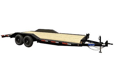 Top Hat Wide Drive Over 10K Fender Style Equipment Trailer 1