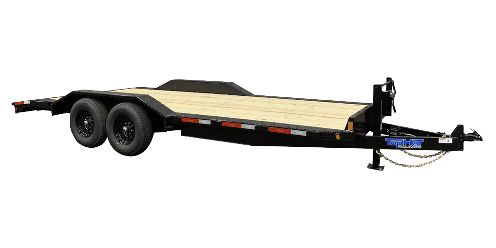 Top Hat Wide Drive Over 14K Fender Style Equipment Trailer 1.2