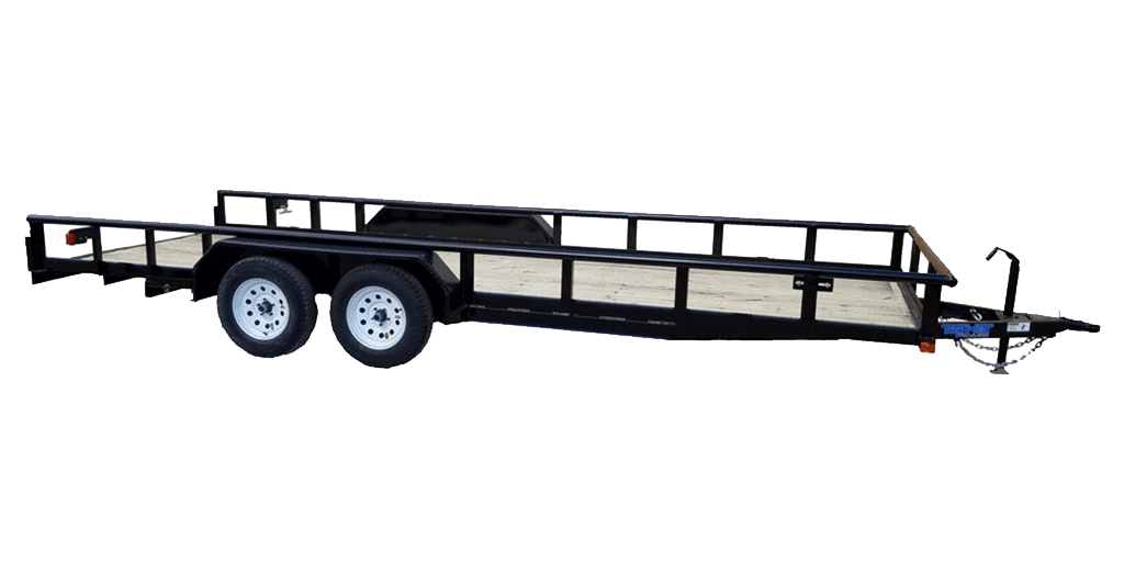 Top Hat XL Pipe Utility Tandem Axle Landscape Trailer 1.2