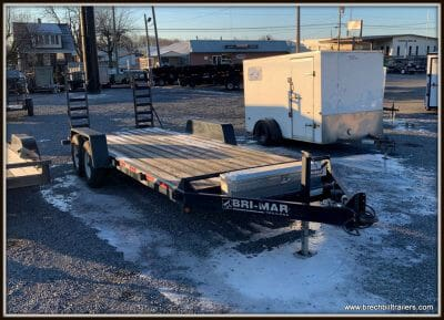 Used 2005 Bri-Mar Equipment Trailer 82x20'x12K (EH20-12) 5C039698